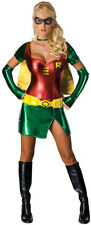 Adult Robin Costume Sexy Womens Superhero Costume Batman SideKick Size Medium