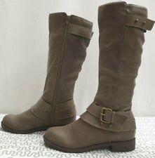 LINEA THORNBERRY ladies womens beige knee boots Size UK 3 EU 36