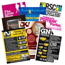 250 Colour Double Sided A6 Leaflets - FREE DESIGN
