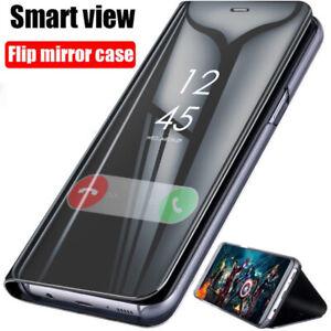 Hülle Samsung S21+ Plus Ultra 5G Flip View Case Cover Handy Tasche Schutz
