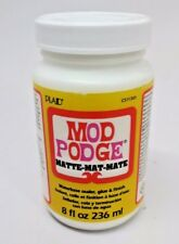 Mod Podge Waterbase Sealer, Glue and Finish 8-Ounce Matte Finish CS11301