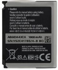 NEW OEM SAMSUNG  Freeform 2 II R360 Solstice A887 A717 A727 AB603443CA BATTERY