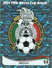 Panini 70 Logo Emblem Mexiko Mexico FIFA WM 2014 Brasilien