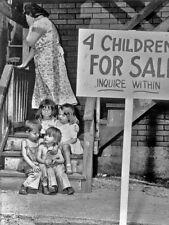 Vintage Children For Sale Photo Bizarre Odd Freaky Strange