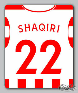 STOKE themed MOUSEMAT mouse mat pad PERSONALISED football kit style