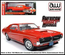 Auto World Collectible '69 Mercury Cougar Eliminator 1:18 Scale Diecast Car