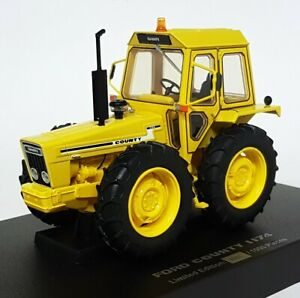 Universal Hobbies 1/32 Scale Diecast - UH6212 Ford County 1174 Yellow Tractor