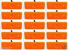 15 pièces X 12V 4 LED marquage latéral ambré FEUX pour IVECO DAILY FIAT DUCATO