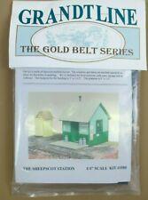 "Grandtline ""The Gold Belt Series""  Sheepscot Station O-Scale Train Railroad Kit"