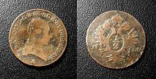 Autriche - Franz II - 1/2 Kreuzer 1800 A - KM#2108