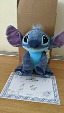 Build a bear soft toys Stitch With Sound And Condo