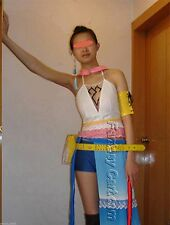Halloween COMPLETE Gunner Yuna Costume Cosplay from Final Fantasy M Multi-Color
