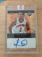 Kyrie Irving rc 2011-12 Limited 2011 Draft Pick Redemptions Autographs #1 auto