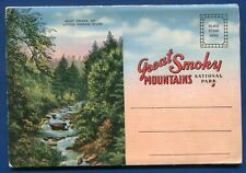 Great Smoky Mountains National Park Swinging Bridge Postcard Folder