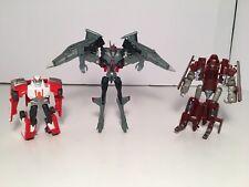 Transformers Prime Cyberverse Ratchet Starscream Dark of the Moon Powerglide