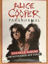 ALICE COOPER 2017 TOUR - orig.Concert Poster -- Konzert Plakat  A1 NEU