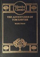 Adventures of Tom Sawyer Mark Twain The Hamlyn Classics library Hardcover Rare