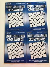 Lot of 4 Expert Challenger Crossword $31.80 Dell Collectors Series Penny Press x
