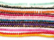 UKcheapst-agate tigereye quartz lapis  round 4mm gemstone beads