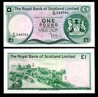 SCOTLAND 1 POUNDS 1981 P 336 a XF