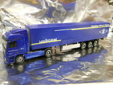 ** Herpa 282116 Mercedes Benz Actros LH Canvas Semitrailer Roegels 1:87 HO Scale