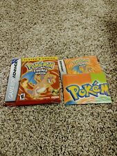 Pokemon FireRed Box & Instructions Only (No Game Included)
