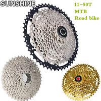 SUNSHINE Cassettes 8-11 speeds 11-50T MTB Road Bicycle  Mountain Bike Freewheel