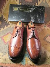 8501b05c634 Brown Sears Easy-Flex cushioned leather WINGTIP shoes new in box size 9.5D