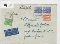 German Postal History Stamps Cover 1956 Ref 8727