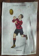 BDV Cigarettes silk Godfrey Phillips - Rugby league colours - Barrow