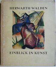 Herwarth Walden, Einblick in Kunst, Expressionismus, Futurismus, Kubismus