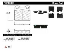 Disc Brake Pad-C-TEK Metallic Brake Pads Rear,Front Centric 102.00300