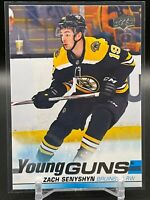 2019-20 Upper Deck Hockey Series 1 ZACH SENYSHYN Young Guns Rookie #234 Bruins