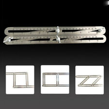Stainless Steel Multi-Angle Ruler Tool Measures Easy to Use All Angles Forms DL5