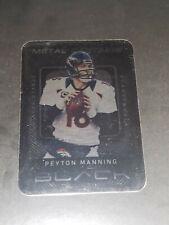 New listing 2013 Panini Black Metal Captains Peyton Manning SP Broncos
