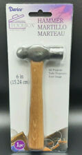 HAMMER All Purpose Tool Leather Craft Metal Wood Art Darice 6 inch NEW
