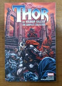 THOR Complete Collection Kieron Gillen TPB GN OOP 2019 Marvel Comics Tan, Elson