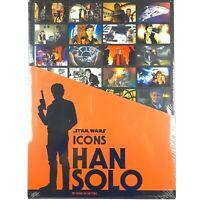 Star Wars Icons HAN SOLO Hardback Book By Gina McIntyre