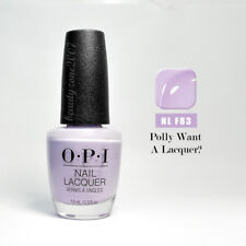 OPI Nail Polish Lacquer F83 Polly Want a Lacquer? 0.5oz /15ml