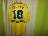 Eintracht Braunschweig Adidas Matchworn Trikot 1998/99 + Nr.18 Deffke Gr.XL