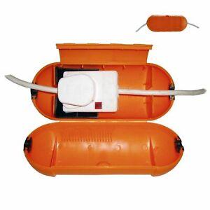 Socket Plug Cover Garden Outdoor Waterproof 1 Gang Splash Proof Extension Lead