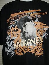 Men's 2Pac Tupac Shakur Makaveli Graphic T-Shirt Sz XL Black Tupac Born 1971 EUC