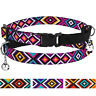 Breakaway Cat Collar Pet Safety Adjustable Kitten Collars Bell Elastic Strap