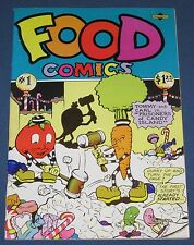 Food Comix  Underground Comix 1st Printing  Flip Cover!
