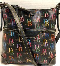 *Dooney & Bourke*BD 75 Black Multi* Crossbody*Shoulder Bag 18245i S174