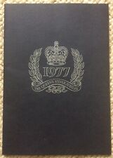 The Queen's Silver Jubilee 1977 Stamp Album .. Total Oil 24 Stamps Complete