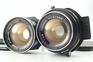 [MINT] Mamiya Sekor 55mm F/4.5 TLR Lens For C330 C220 Pro S F C22 C33 From JAPAN