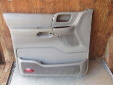 1999-2002 FORD WINDSTAR LX LEFT FRONT DRIVER SIDE DOOR PANEL GREY OEM