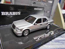 Mercedes-benz 500e W124 Brabus 6.5 Baujahr 1989 Silber 1 43 MINICHAMPS