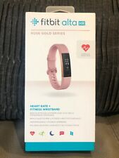 Fitbit Alta HR Rose Gold activity tracker